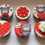Капкейки з ведмедиками для закоханих