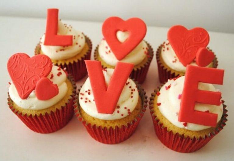 Капкейки для закоханих