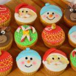 Великий набір новорічних капкейків