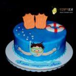 Дитячий торт на день народження Луки