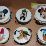 Капкейки з персонажами Disney
