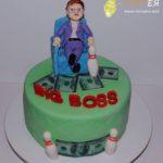 Торт на день народження начальника