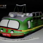 Торт на день народження залізничника