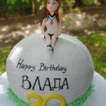 Торт для волейболістки на день народження