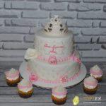 Торт на рочок для дівчинки Вероніки