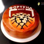 Торт для футбольного клуба