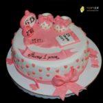 Торт для дівчинки на рочок