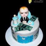Торт для хлопчика baby boss