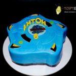 Торт бей блейд синій