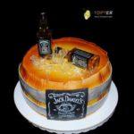 Торт бочка віскі Джек Деніелс