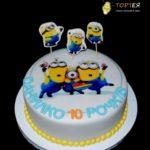 Дитячий торт - посіпаки