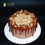 Шоколадний торт без мастики