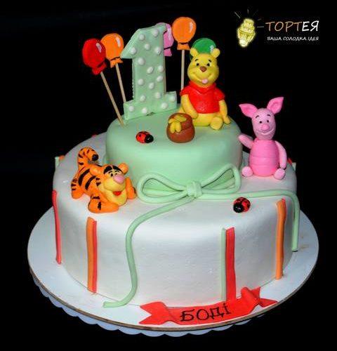 Торт з Вінні Пухом