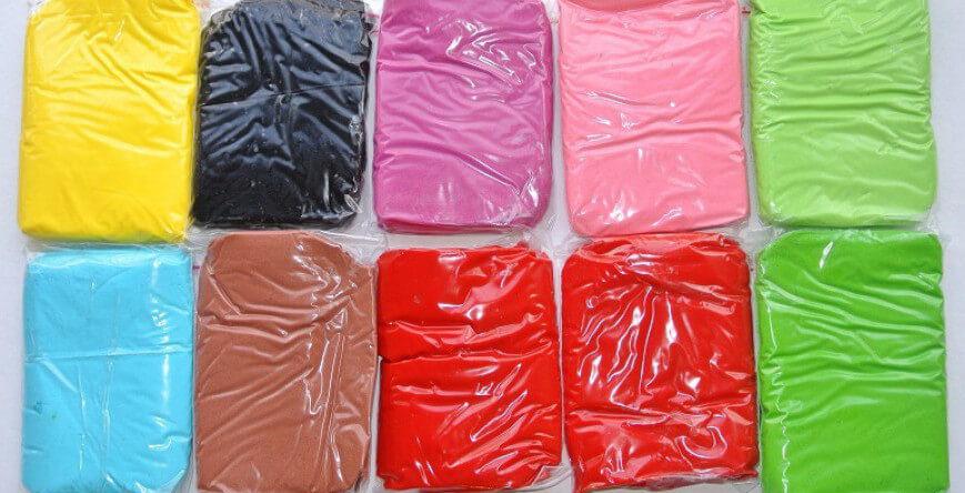 Мастика різних кольорів