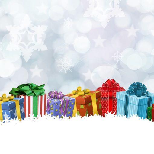 Коробочки з подарунками на Різдво