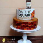 Торт на корпоратив сквер