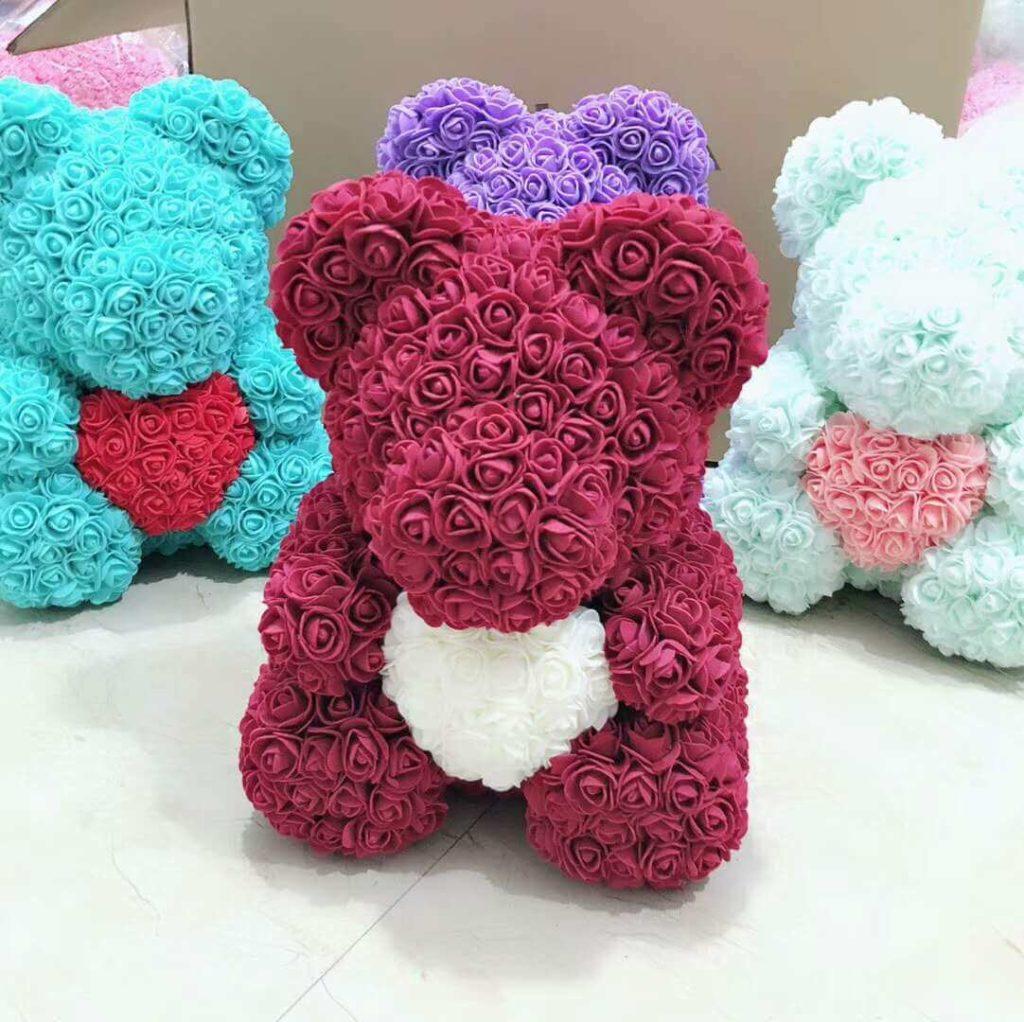 Ведмедики з троянд
