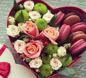 Солодка коробка на день Валентина