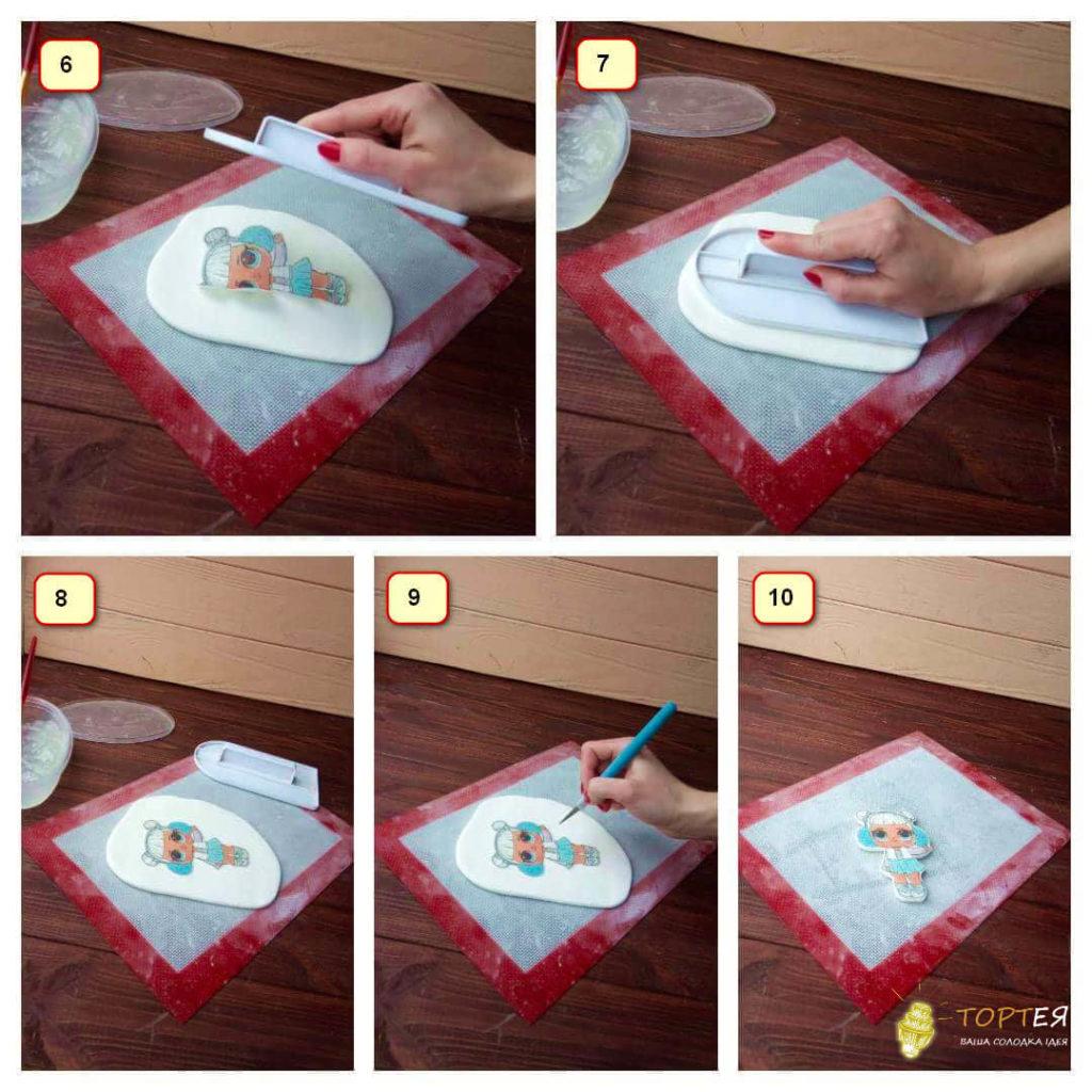 Інструкція як прикрасити торт вафельною картинкою (частина 2)