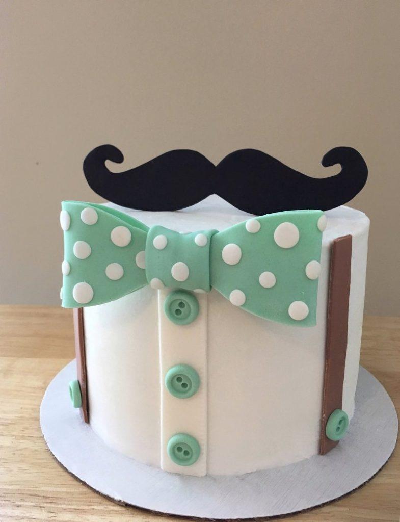 Торт для хлопчика в стилі little man