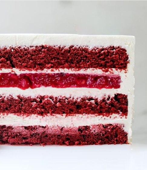 Червоний оксамит начинка для торта