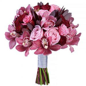 Букет орхідей для мами