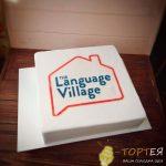 Корпоративний торт language village