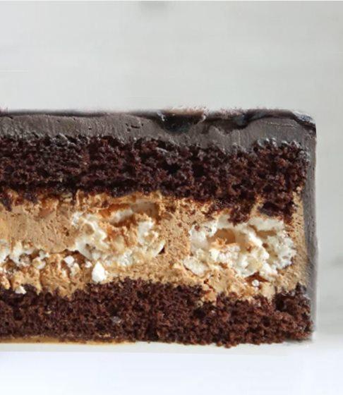 Снікерс начинка для торта