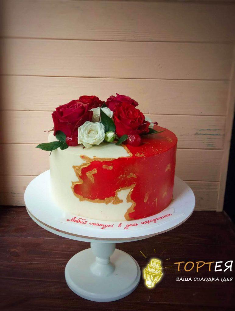 Торт для мамусі