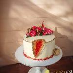Торт з жеодою для мами