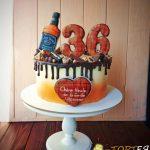 Торт з пряниками на 36 років