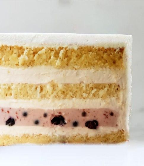Смачна йогуртова начинка для торта