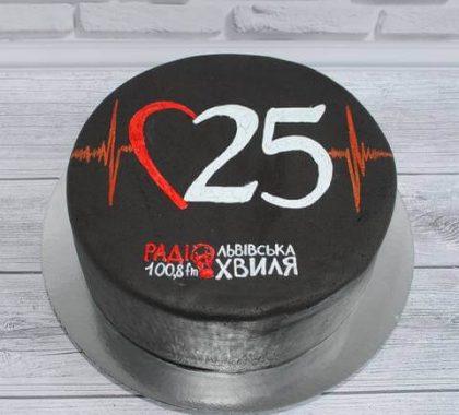 Торт на корпоратив Радіо Львівська Хвиля