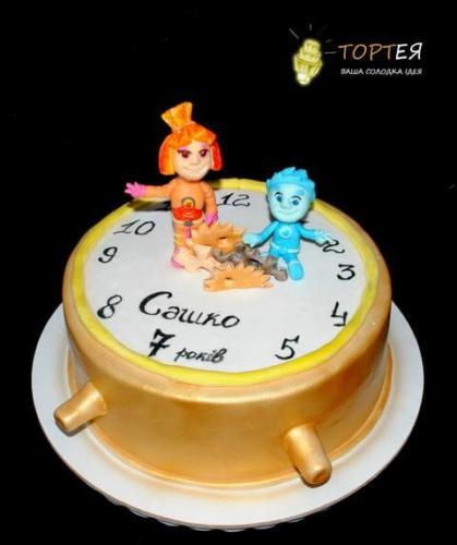 Дитячий торт з Фіксиками