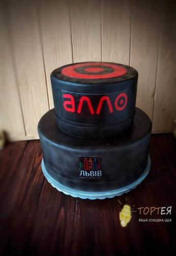 Корпоративний торт для Алло