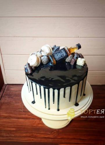 Торт без мастики з Джеком