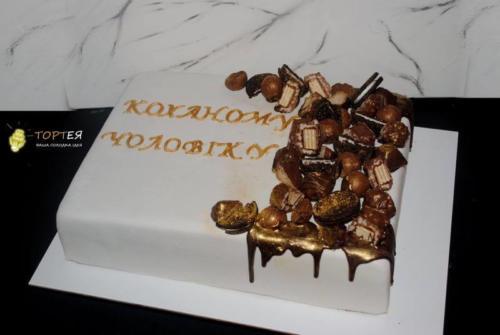 Торт для чоловіка і батька