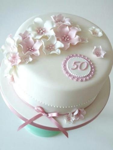 Торт на 50 років мамі