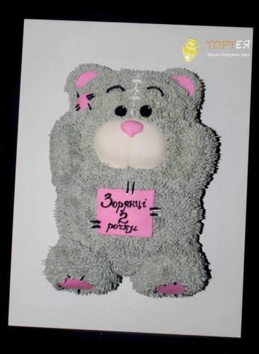 Дитячий торт - Ведмедик Тедді