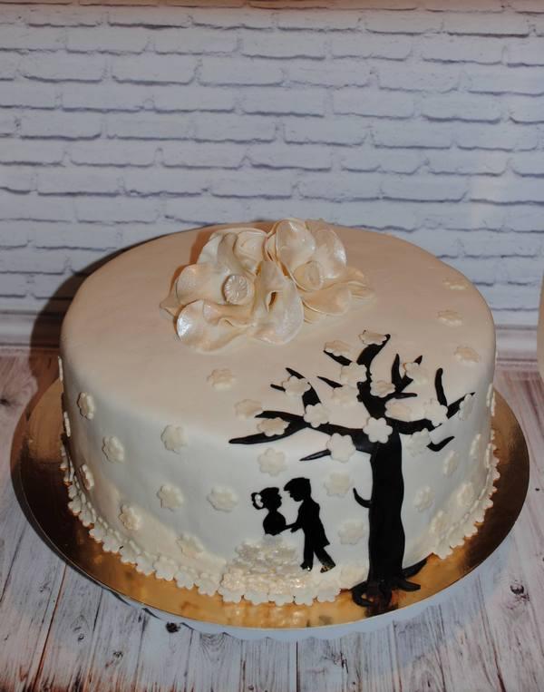 маленький торт