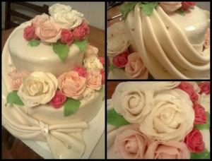Весільний торт на замовлення