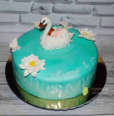 Торт на рочок для дівчинки