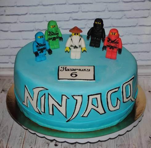 Торт ніндзяго