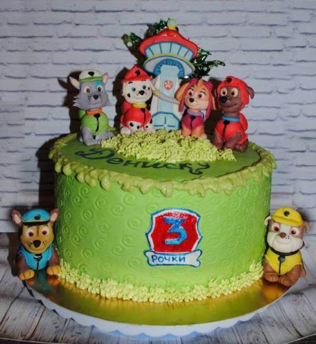 Дитячий торт - Щенячий  патруль