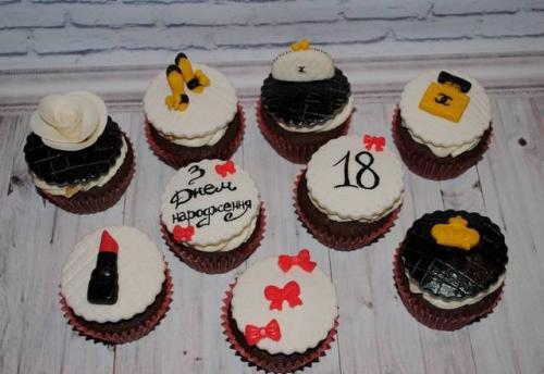 Капкейки на день народження