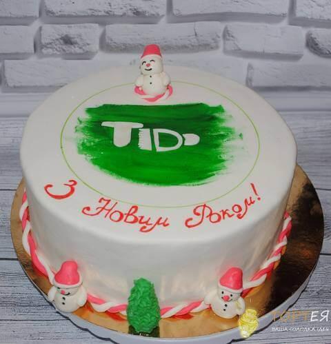 Корпоративний торт для техно декор