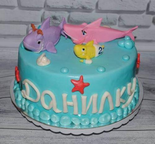 Дитячий тортик для Данилка