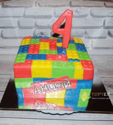 Торт для хлопчика лего