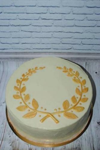 Торт без мастики на день народження
