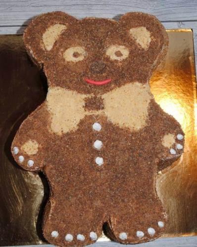 Торт без мастики - Ведмедик